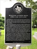 Image for William Luther Dean