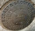 Image for U.S. Coast & Geodetic Survey U 340 Benchmark - New York, NY