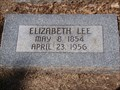 Image for 101 - Elizabeth Lee - Fairlawn Cemetery - OKC, OK
