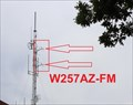 Image for W257AZ-FX (WUUQ-FM 97.3) -- Lookout Mountain TN USA
