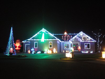 Synchronized Music And Christmas Light Display Fort Wayne