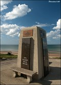 Image for 5th US Engineer Special Brigade Monument at Omaha Beach (Normandy, France)