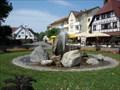 Image for Squirting Fountain - St. Quirinius-Kapelle - Unteruhldingen, Germany, BW