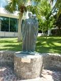 Image for Woman with a Cloak - Hamilton, Pembroke Parish, Bermuda