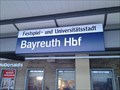 Image for HAUPTBAHNHOF - 95488 Bayreuth/ Germany