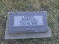 Image for 105 - Marie S. Rogg - Russell City Cemetery - Russell, KS