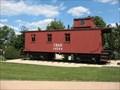 Image for CB&Q Waycar #14584 - Lisle Station Park, Lisle, IL