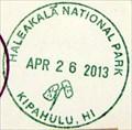 Image for Haleakala National Park - Kipahulu Area NPS Stamp, Maui, Hawaii