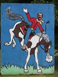 Image for Bucking Bronco Cutout - Wilderness Walk - Hayward, Wisconsin