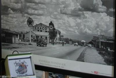 Texaco Gas Station on Route 66 - Andreas Feininger for Life Magazine