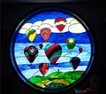Image for Rubin Memorial Window - National Balloon Museum, Indianola, Iowa, USA