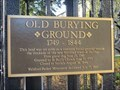 Image for Old Burial Grounds - Halifax, Nova Scotia