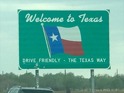 Welcome to Texas, Interstate 40