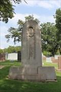"""Image for Gov. Miriam """"Ma"""" Ferguson -- Texas State Cemetery, Austin TX"""