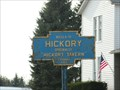 Image for Blue Plaque: Hickory, PA