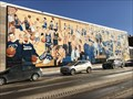 Image for Blue Devil Athletic Mural at High School – Virginia, MN