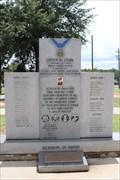Image for Sumter County Veteran's Memorial -- Americus GA
