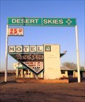 Image for Historic Route 66 - Desert Skies Motel - Gallup, New Mexico, USA.