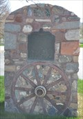 Image for Old Fort and Hoyt Grist Mill Marker Wagon Wheel