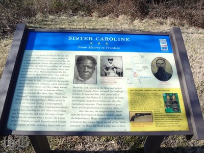 Sister Caroline - From Slavery to Freedom