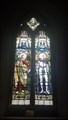Image for 2nd Lt L H Carver window & Cross - St Thomas - Melbury Abbas, Dorset