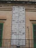 Image for Fenech Meridian Sundial in Valletta, Malta
