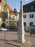 Image for Postmeilensäule in Auma/Thüringen/Deutschland