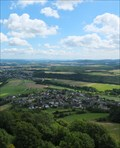 Image for Hain from the Tower of the Burg Olbrück, RLP / Germany