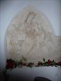 Image for Piscina and piainted alcove, All Saints' - Shelfanger, Norfolk