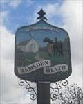 Image for Ramsden Heath Village Sign, The Green, Downham Road, Ramsden Heath, Essex.