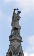 Image for St George and the Dragon -- Westminster Scholars War Memorial, Westminster, London, UK