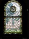 Image for Shakespeare Stained Glass Window - Springfield, MA
