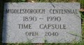 Image for Middlesborough Centennial Time Capsule - Middlesborough, KY