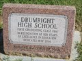 Image for First Graduating Class of Drumright High School, OK
