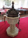 Image for Baptismal Font, St. Michael and All Angels - Kirk Michael, Isle of Man