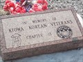 Image for Kiowa Korean Veterans - Carnegie, OK
