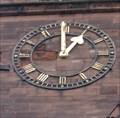 Image for Abbey Clock - Shrewsbury, Shropshire, UK.