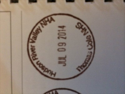 This is the pic of my stamp I put into my passport today.