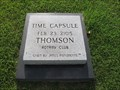 Image for Rotary Time Capsule - Thomson, GA