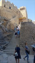 Image for The Knights Steps - Acropolis Of Lindos - Lindos, Greece