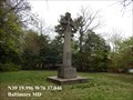 Image for World War I Peace Cross Memorial - Baltimore, MD