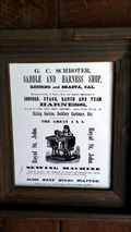 Image for G.C. Schroter, Saddle and Harness Shop - Shasta, CA