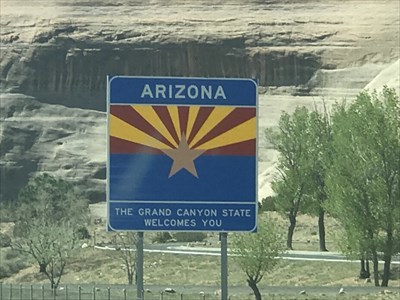 Arizona, The Grand Canyon State, Welcomes You