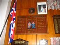 Image for Whangamata Roll of Honour - New Zealand