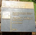 Image for Front Street's Bronze Plaque - Lahaina, Maui Island, HI