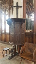 Image for Pulpit - Holy Trinity - Blythburgh, Suffolk