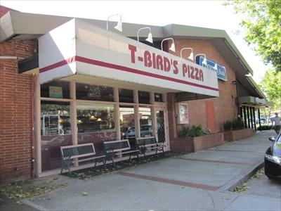 T Bird Pizza Los Gatos CA Independent Pizza Restaurants On