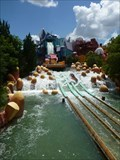 Image for Rip Saw Falls - Universal's Islands of Adventure, Orlando, FL.