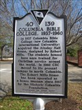 Image for Columbia Bible College, 1937-1960 - 40 139 - Columbia, South Carolina