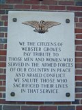 Image for Webster Groves City Hall Veterans Memorial - Webster Groves, Missouri
